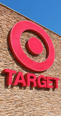 Cathedral City, California, USA - November 17, 2011: The front facade of a Target retail outlet.