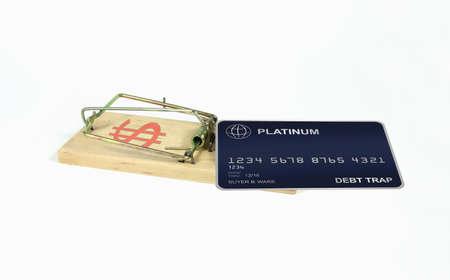 debt trap: Debt Trap Stock Photo