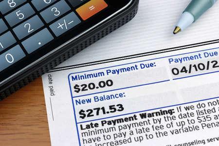 due: Minimum Payment Due