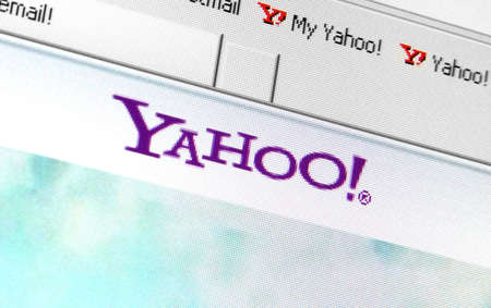 yahoo: Palm Springs, California, USA - May 29, 2011: A screen capture of the Yahoo! sign-in page