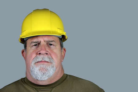 Serious Construction Worker Stock Photo - 14733204