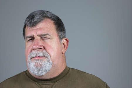 skeptical: skeptical Man