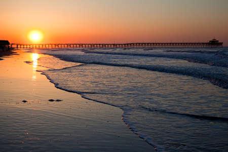 sunset beach: Sunrise, Sunset over Myrtle Beach