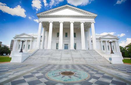 Die Landeshauptstadt Gebäude in Richmond Virginia.