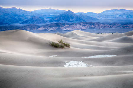 high dynamic range: The sand dunes of Death Valley National Park, California, USA.