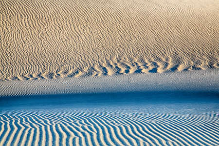 ripple: The sand dunes of Death Valley National Park, California, USA.