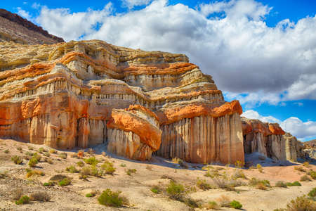 Red Rock Canyon State Park features scenic desert cliffs, buttes and spectacular rock formations. The park is located where the southernmost tip of the Sierra Nevada converges with the El Paso Mountains.