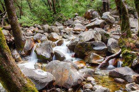 merced: The Merced River as it flows through Yosemite Valley.