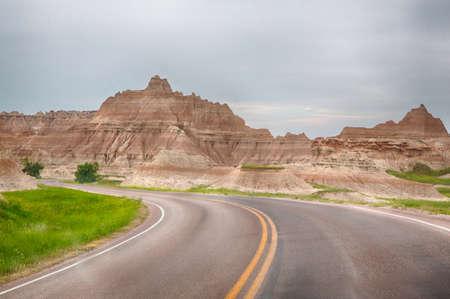 Badlands National Park in South Dakota is full of awe inspiring landscapes and stark geologic formations.