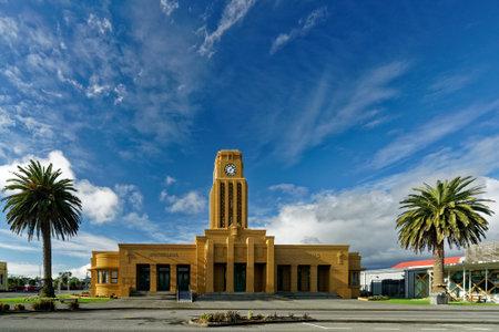 Westport, West Coast/New Zealand - July 20, 2019: Westport Municipal Chambers, Palmerston Street, Westport, New Zealand. Editorial
