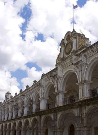 guatemalan: Guatemalan palace Editorial