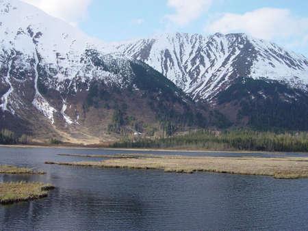 river scape: Snowy river Stock Photo