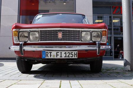 Reutlingen Germany August 20 2017 1970 Fiat 125 Special Stock