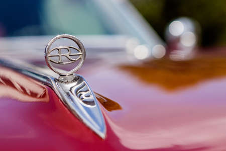 Laupheim, Germany - September 24, 2017: Buick Riviera oldtimer car at the US Car Meeting event on September 24, 2017 in Laupheim, Germany.