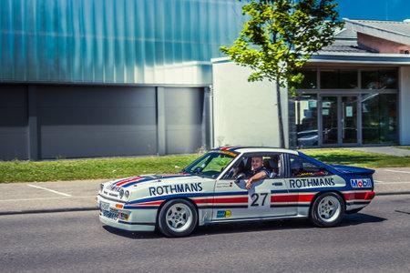 Heidenheim, Deutschland - 8. Juli 2018: Opel Manta 400 am 2. Oldtimer-Tag in Heidenheim an der Brenz, Deutschland.