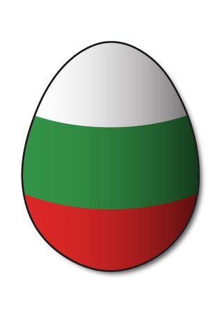 bulgarian: Bulgarian Flag Egg