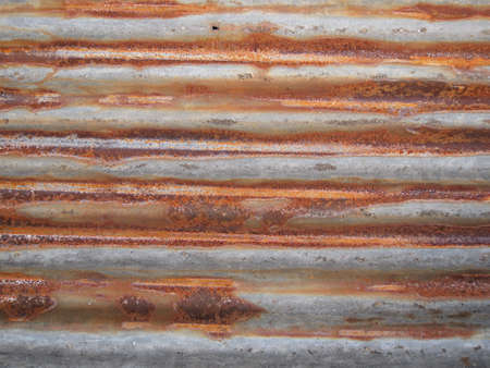 steel sheet: Rusty and cracked galvanized steel sheet