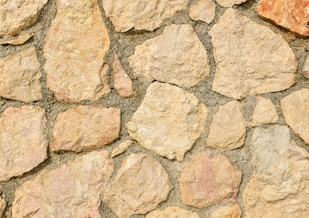road paving: Natural yellow pavement stone for floor, wall or path. Traditional fence, court, backyard or road paving.