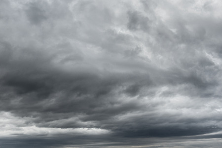 bad times: Dramatic Thunderstorm clouds texture for composition. Cloudscape and sky.