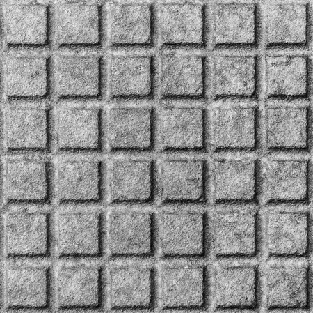 drain: Old rusty metal street sewer drain cover top hatch texture. Close up of steel cover made of squares. Dimension 1x1 cm. Stock Photo