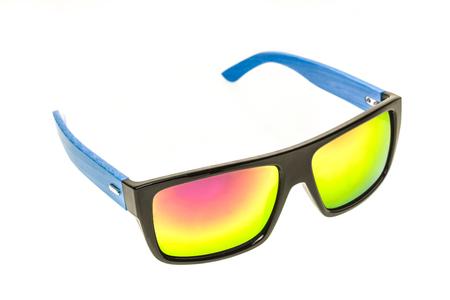Farbe Kinder Sonnenbrillen, Sonnenschirme Oder Brillen Isoliert Auf ...