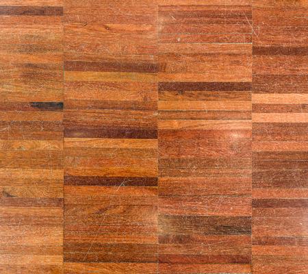 Natural Wood Parket achtergrond van het patroon textuur afbeelding. Oude rustieke vintage grungy, decoratief stuk echte gepolijst hout. Composietmateriaal beeld.