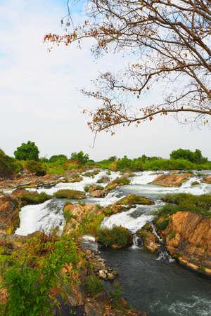Waterfall li phi Фото со стока