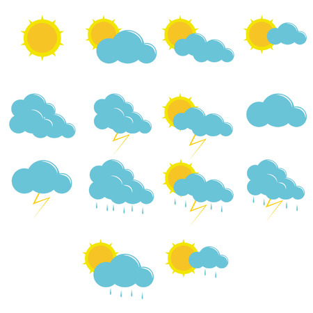 weather icons simple