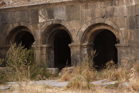the archs of church st. Karapet, Vorotnavanq monastery, Armenia Stock Photo - 7733939