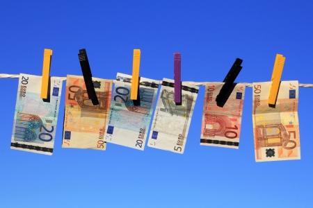 Het witwassen van geld