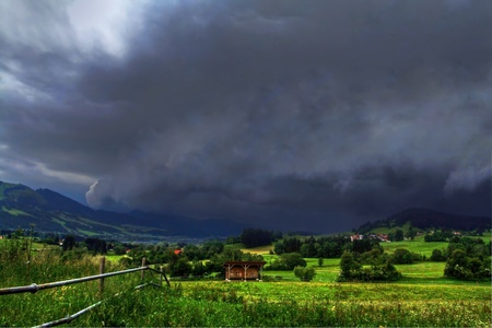 peasantry: A violent storm moves across the land