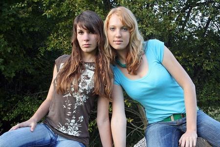 Friendships in adolescence are important Stock Photo - 18357855
