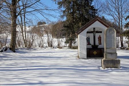 The small chapel on Pestfriedhof photo