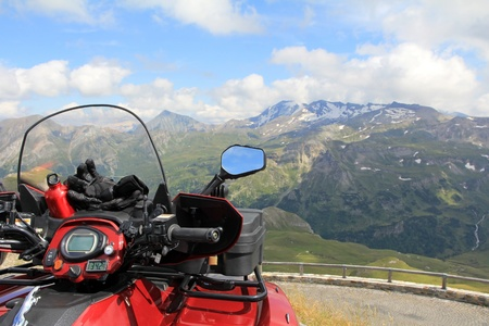 The ATV at the Grossglockner photo