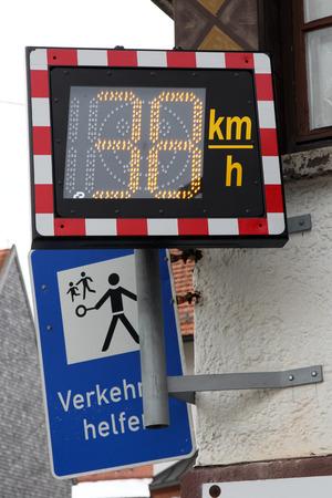 despacio: Speed ???? medición en una carretera