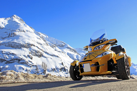 Go with the Can Am Spyder in winter
