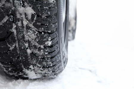 Winter tires for a car