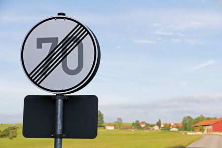 repeal: Traffic signs - The speed limit of 70 is canceled