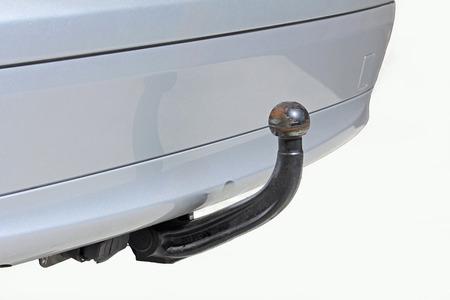 Anhängekupplung an ein Auto- Standard-Bild - 45488965