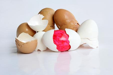 huevos de pascua: El huevo de Pascua oculto - Un huevo de Pascua bien escondido