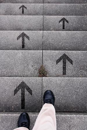 決定は-どの道を行きます。