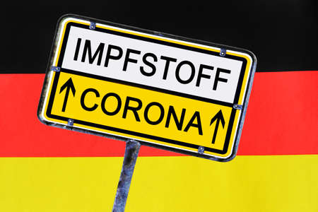 There may soon be a vaccine against Corona in Germany 版權商用圖片