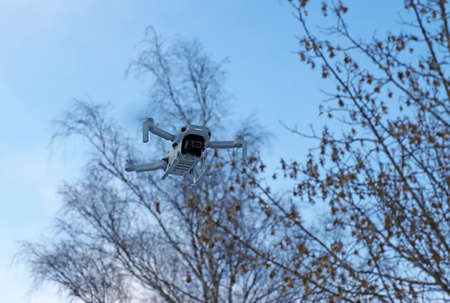 Trees can be a great danger for drones