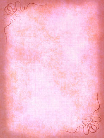 Old paper background with scratches and decorative elements