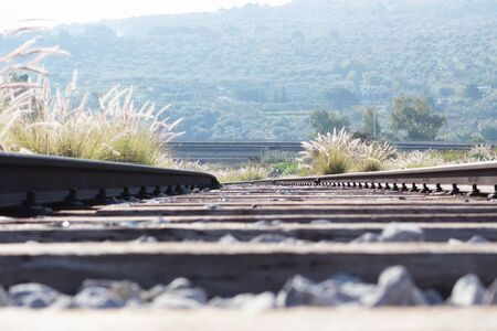 internships: abandoned train rail