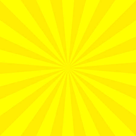 Yellow abstract background. Vector illustration.