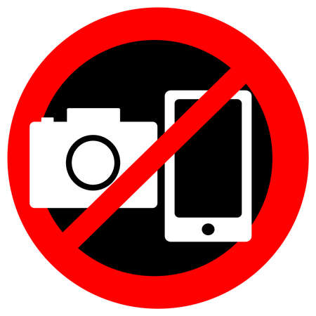 Image result for no cameras allowed