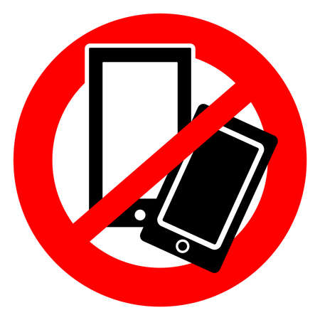 No mobile phones  symbol- ban