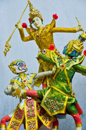 depicts: Depicts of Thai doll