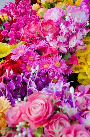 Fabric flower Stock Photo